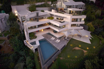 House Venter aerial view