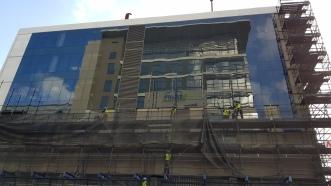 Maserati in construction